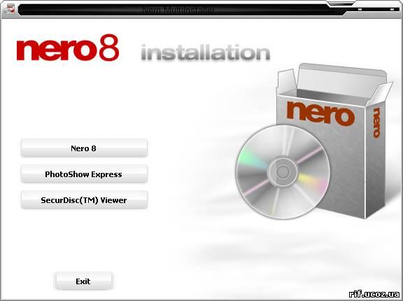Nero 8 Ultra Edition(Полностью автоматическая установка) 8.0.3.0 x86+
